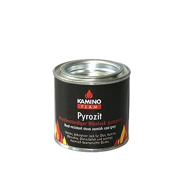 Kamino-Flam – Barniz líquido para chimenea (100 ml), Pintura anticalor para