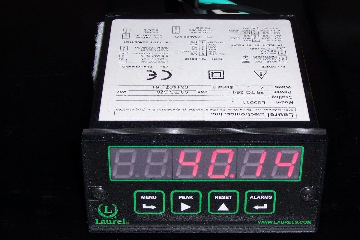 Laurel Electronics 200-020, Remote Panel Display, Red Led 6 Digit Display, Nema 4X Front Panel by Laurel Electronics (Image #1)