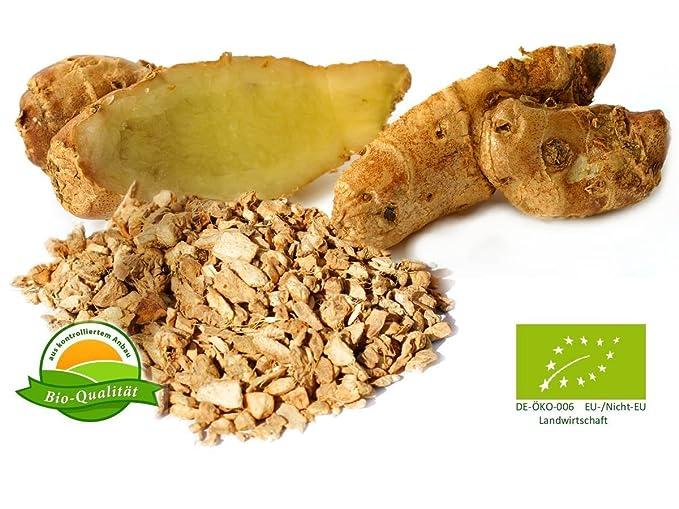 Aroma natural Galangal cortada, orgánica 1000 g: Amazon.es: Alimentación y bebidas