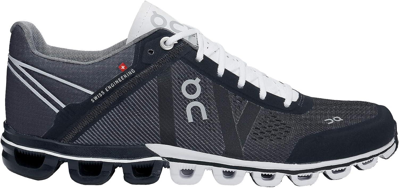 On-Running Womens Cloudflow Black White Running Shoe – 10
