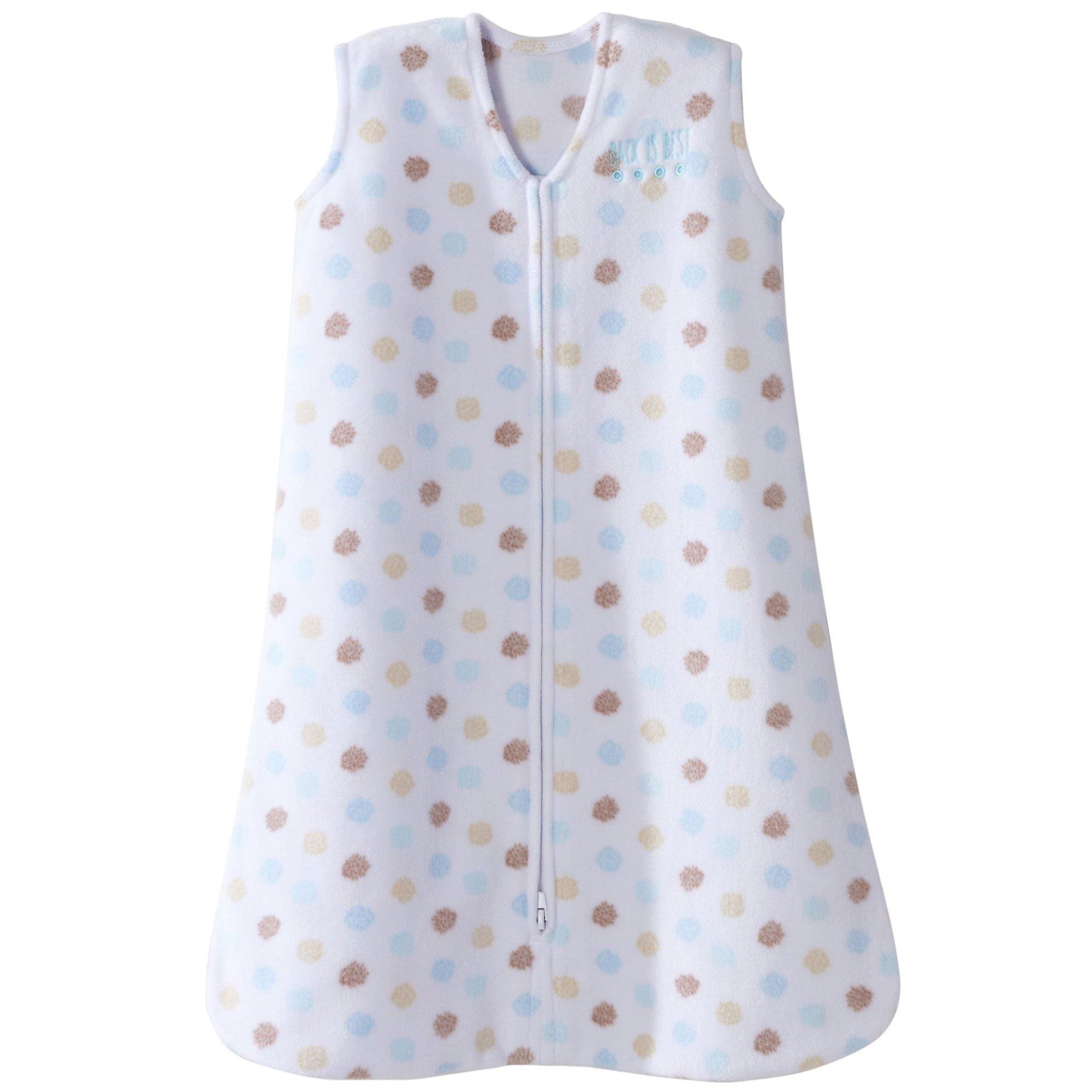 Halo Sleepsack Microfleece Wearable Baby Blanket, Starburst Sprinkle, Small