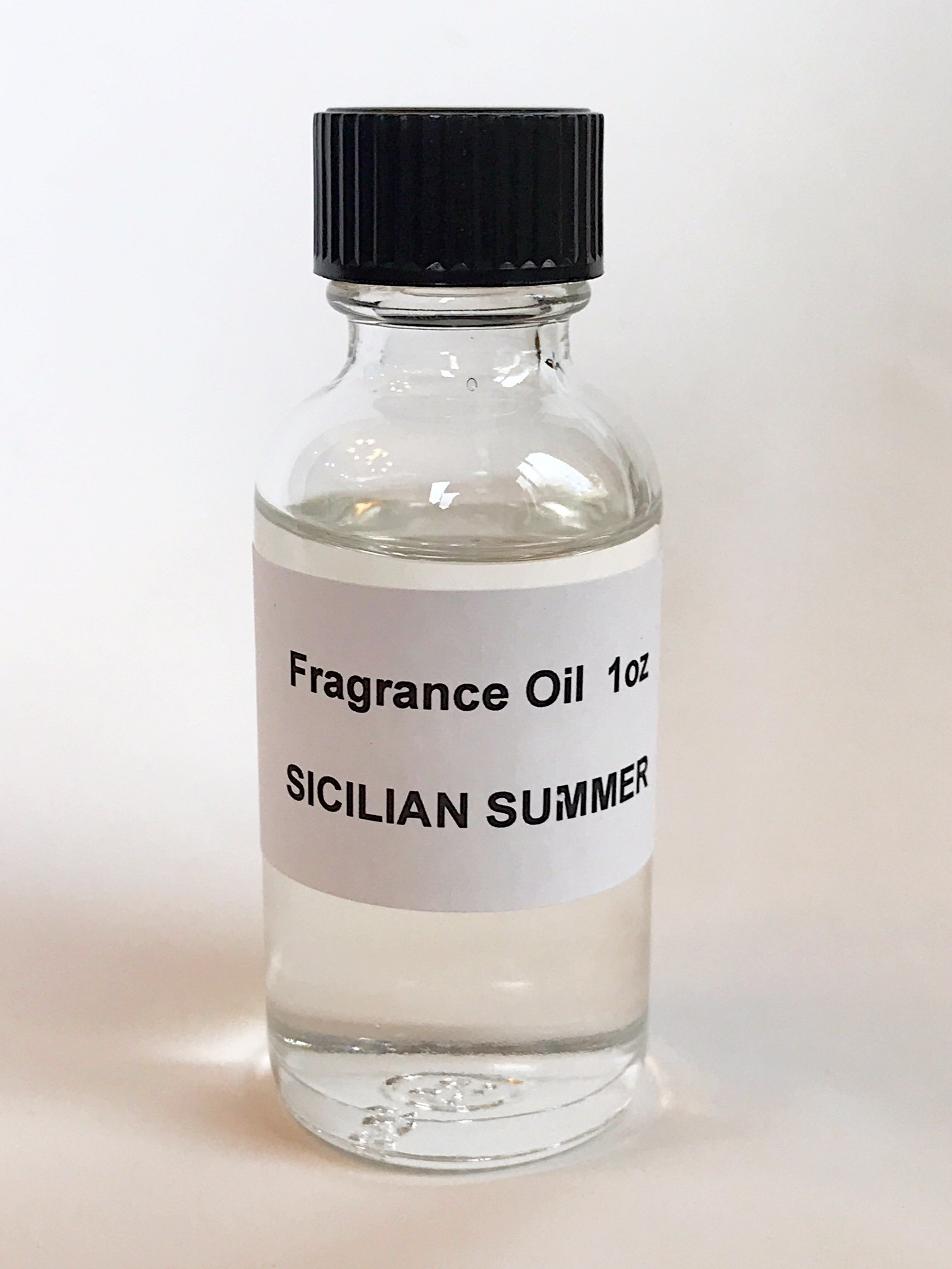 Sicilian Summer Fragrance Oil 1oz Body Oil Perfume Oil Made in USA