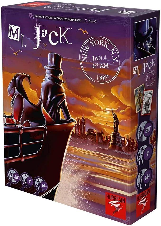 Asmodee-Halloween Mr Jack Pocket-Español, Color One Colour, Talla Única MRJ04ML: Amazon.es: Juguetes y juegos