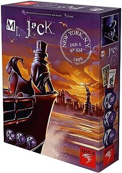 Asmodee - Mr. Jack Nueva York, juego de estrategia - Varios idiomas, incluye español (MRJ03ML): Amazon.es: Juguetes y juegos