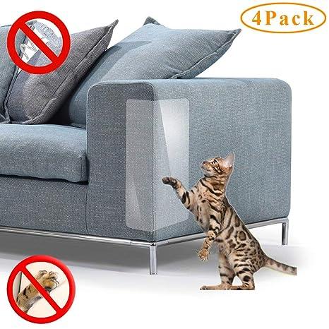 PetIsay Protector de Muebles para Gatos, protección contra arañazos, Protector de sofá para sofá, Juego de Fundas, plástico, 18Long*8Wide(2019)