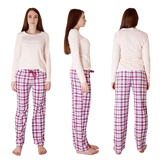 d3e33cebd0 Cherokee Women s 2 Piece Pajama Set at Amazon Women s Clothing store