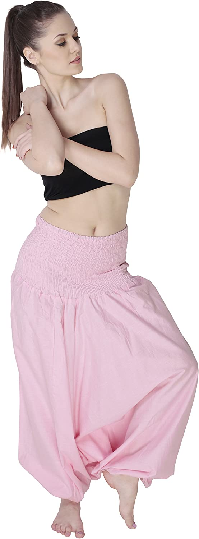 Aakriti Gallery Harem - Pantalón de Yoga con pantalón para Mujer, Estilo Indio, Estilo Bohemio