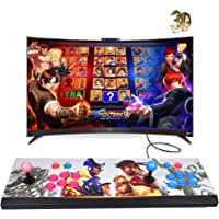 XFUNY Arcade Game Console 1080P 3D & 2D Games 2020 in 1 Pandora's Box 3D 2 Players Arcade Machine with Arcade Joystick Support Expand 6000+ Games for PC/Laptop/TV / PS4 (KOF)