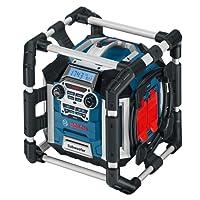 Bosch Professional Akku Baustellenradio GML 50 (USB, Aux-In, integrierter Akkulader, 14,4-18 Volt, 50 Watt)