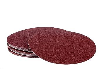 50 Stück SBS Klett-Schleifscheiben ø 225 mm Korn 100 Schleifpapier für LHS