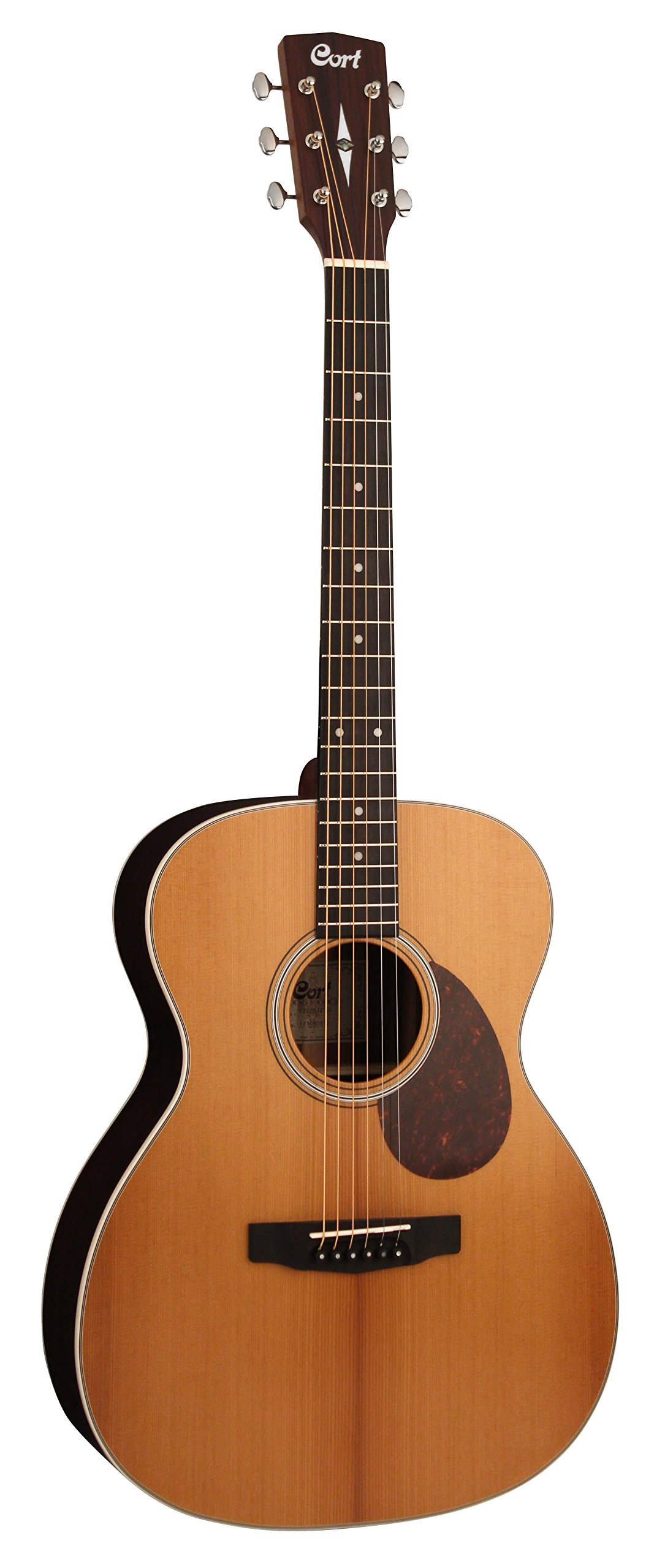 Cort 6 String Acoustic Guitar, Right Handed, Concert (L200 ATV SG) by Cort