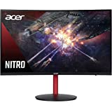 "Acer Nitro XZ272 Pbmiiphx 27"" 1500R Curved Zero Frame Full HD (1920 x 1080) Gaming Monitor with AMD Radeon FreeSync Technolog"
