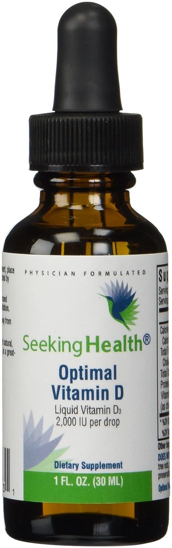 Amazon.com: Optimal Vitamin D3 Liquid | 2,000 IU Per Drop | 900 ...