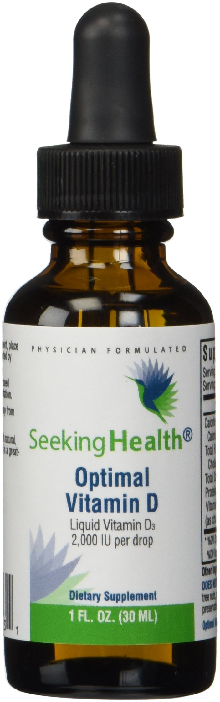 Seeking Health | Optimal Vitamin D3 Liquid | Liquid Vitamins | 2,000 IU Vitamin D per Drop by Seeking Health (Image #2)