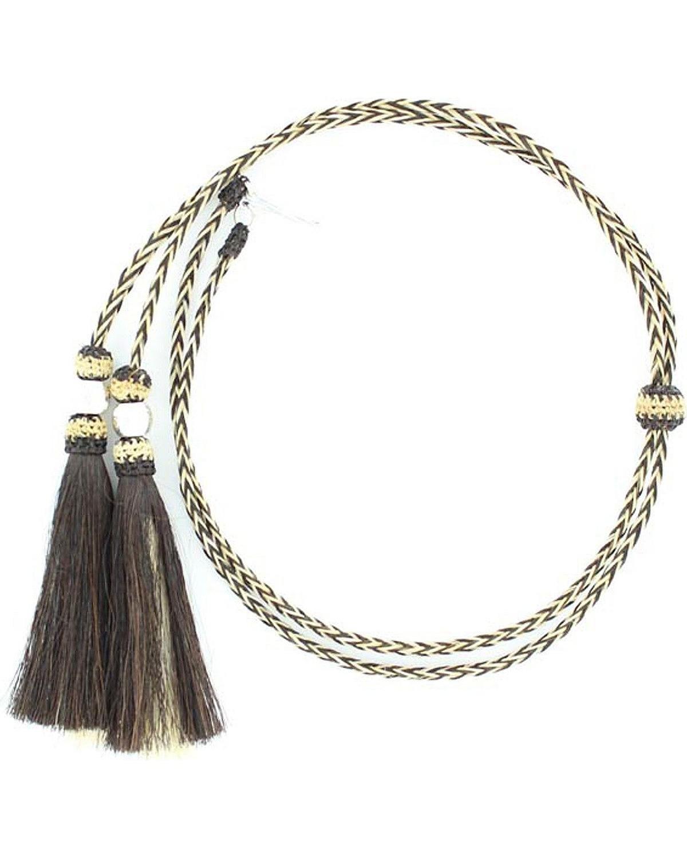 M & F Western Horse Hair Stampede String 02956