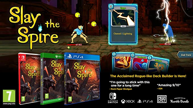 Slay The Spire - Nintendo Switch [Importación inglesa]: Amazon.es ...