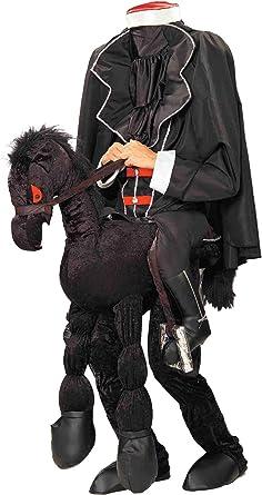 Bloody Headless Horseman Halloween Costume for Men with Accessories Standard