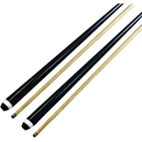 "2-Piece 57"" Normal Wooden Snooker Cue for Pool Billiard, Pack of 2 / Pack of 4"
