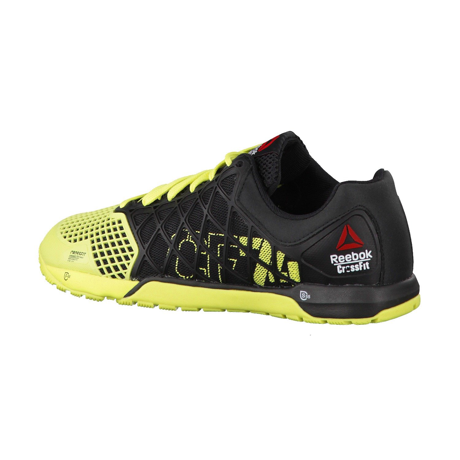reebok crossfit shoes high top. reebok crossfit nano 4.0, unisex adults\u0027 trainers, black (nero / giallo), 13 uk (48.5 eu): amazon.co.uk: shoes \u0026 bags high top .