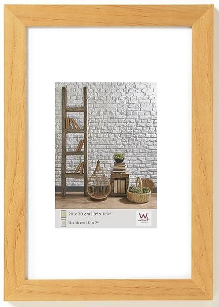 Walther Design TA070P Natura, Marco de madera, haya, 50 x 70 cm ...