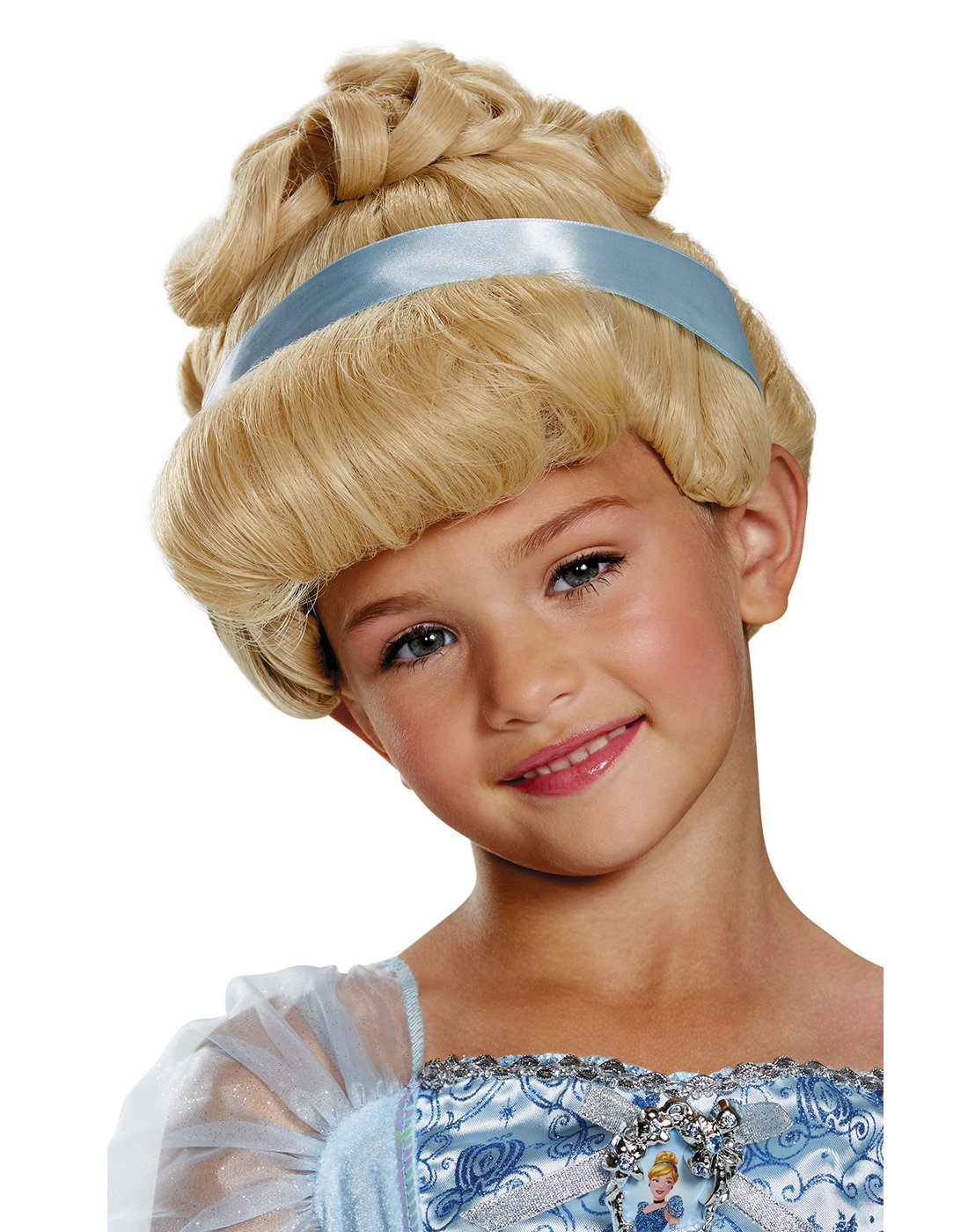 Cinderella Deluxe Child Wig, One Size by Disguise