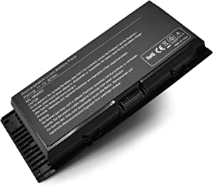 New M4600 Laptop Battery Replacement for Dell Precision M6600 M4700 M4800 M6700 M6800 FV993 FJJ4W KJ321 PG6RC V7M28 R7PND RY6WH 451-11742 451-11743 [11.1V 97Wh]
