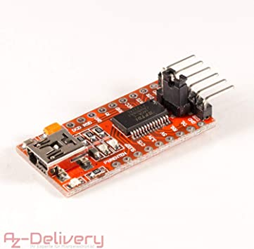 3.3V For Arduino FTDI FT232RL USB to TTL Serial Converter Adapter Module 5V