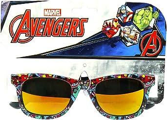 Materiale Leggero Anni 3+ no case Avengers Multicolore Protezione 100/% UV400 Raggi UVA//UVB Occhiali da Sole Bambino Premium Marvel Comics Avengers Spider Man Capitan America
