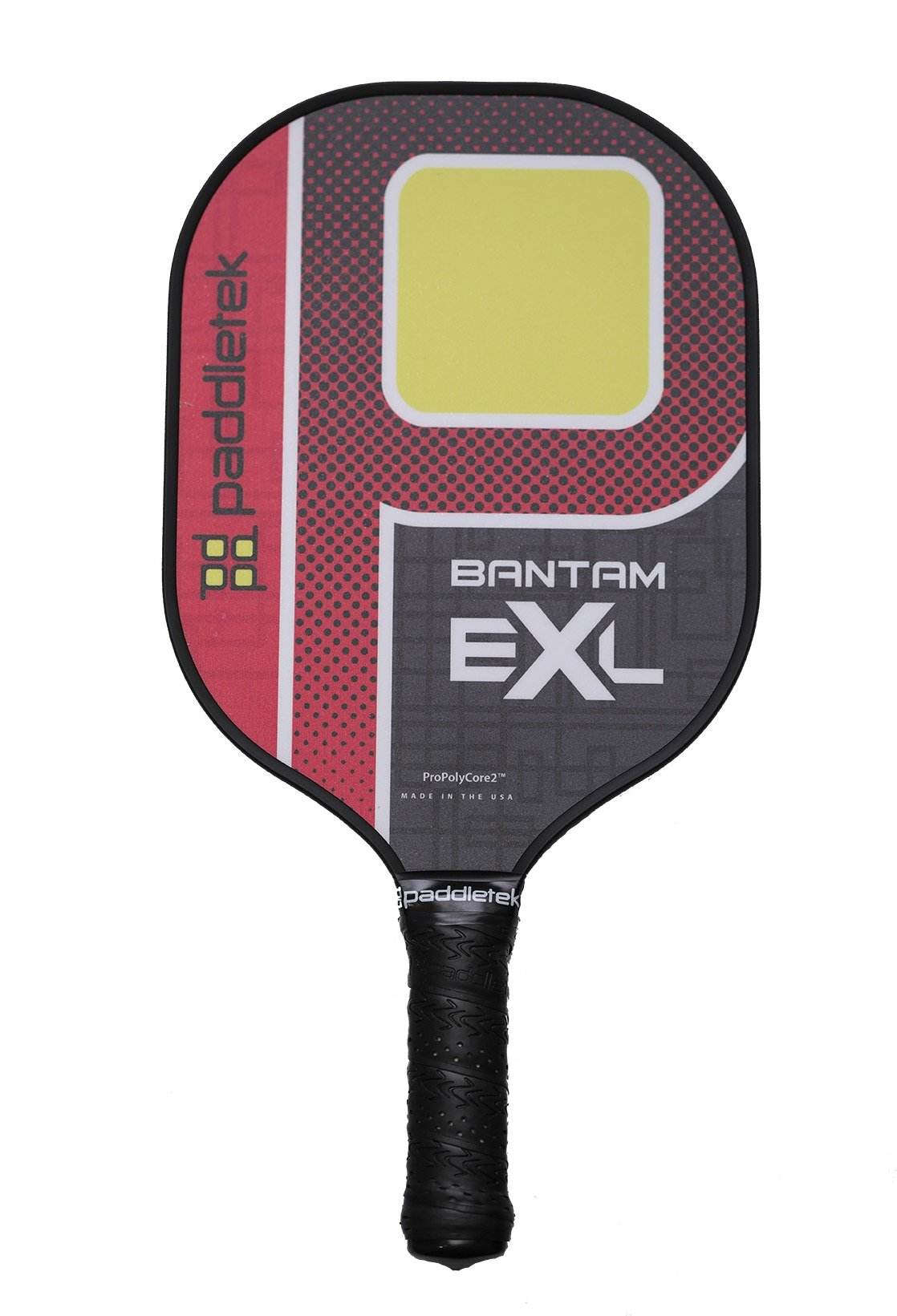 Paddletek Bantam EX-L Pickleball Paddle | Red | 2018 by Paddletek
