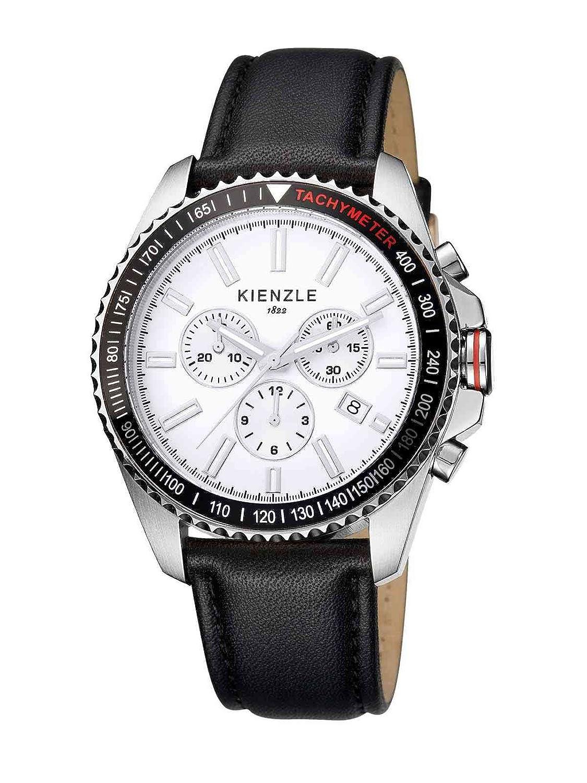 Kienzle Herren-Armbanduhr XL Analog Leder K3051011021