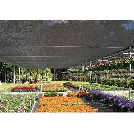 Toldos HUO, Malla Cuadrada Negra Protección Solar Neta Red Jardín Aislamiento Techo Tamaño de Malla Opcional (2 * 2 m) (Tamaño : 3x3m): Amazon.es: Jardín