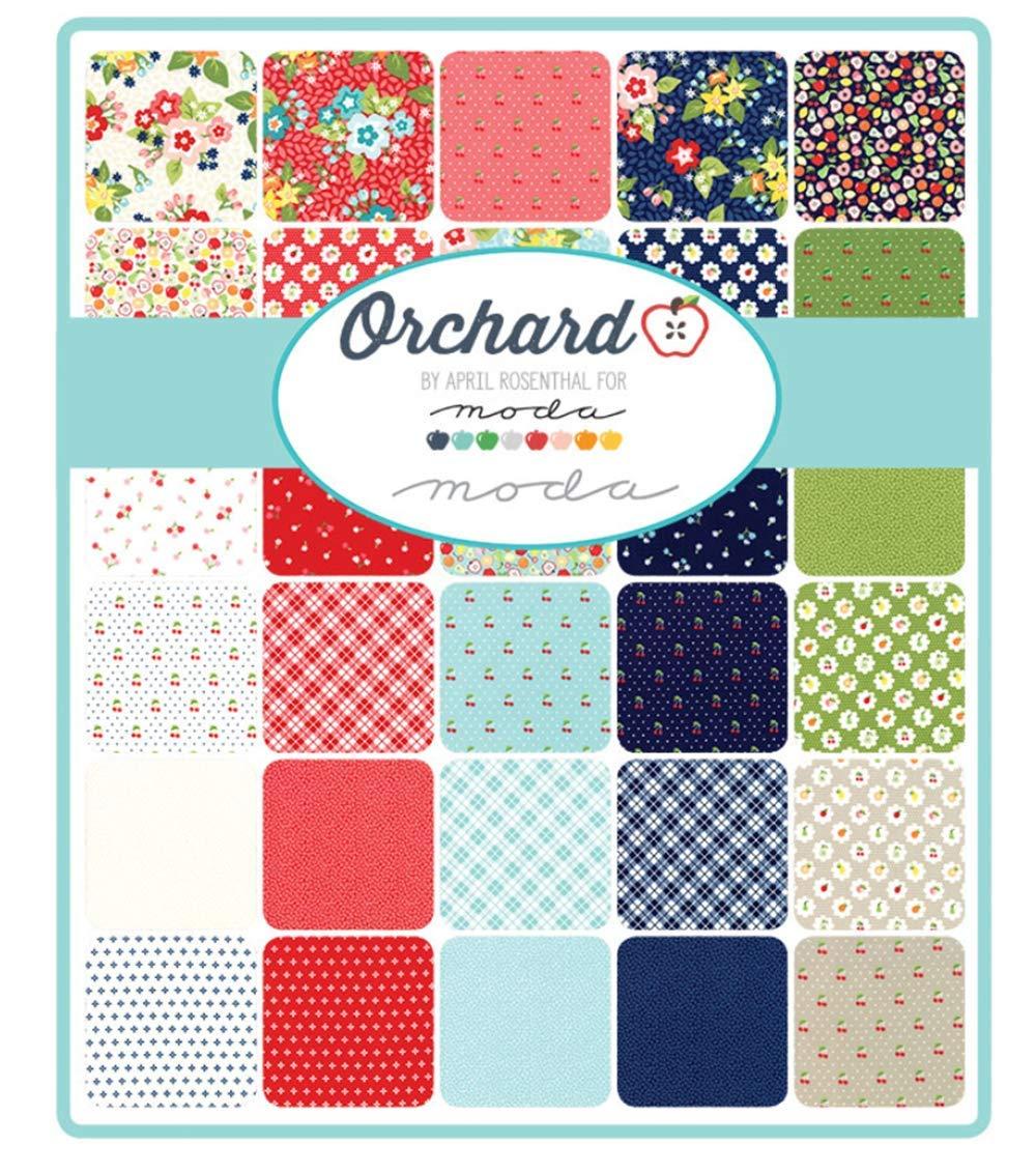 Orchard 32 Fat Quarter Bundle by April Rosenthal for Moda Fabrics 24070AB by Moda Fabrics (Image #2)