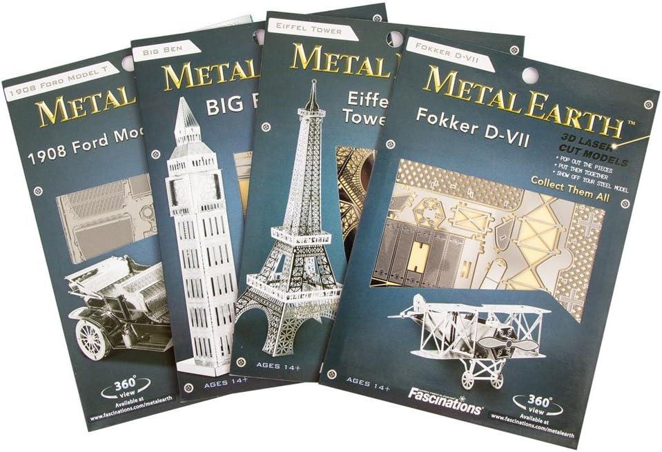 Metal Earth Telescopio Hubble Miniatura 3D Kit Laser Cut Modello Fascinations