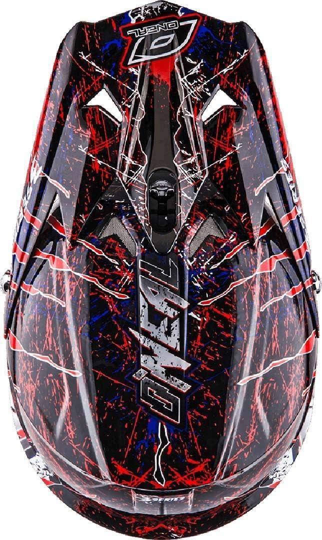 53-54cm XS ONEAL 3 Series Motocross Enduro MTB Helm Mercury schwarz//blau//rot 2018 Oneal Gr/ö/ße