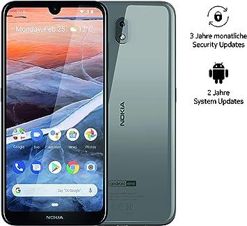 Nokia 3.2 Dual SIM Smartphone – mercancía alemana (15,9 cm (6,26 ...