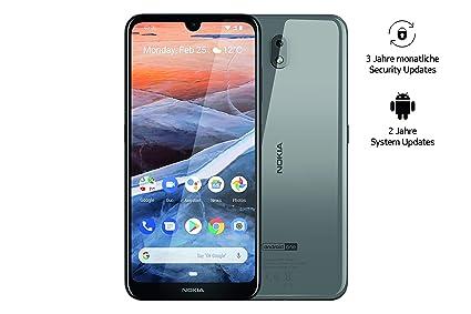 Sim Karte In Anderes Handy.Nokia 3 2 Dual Sim Smartphone Deutsche Ware 15 9 Cm 6 26 Zoll 13 Mp Hauptkamera 2gb Ram 32gb Interner Speicher Android 9 Pie Steel