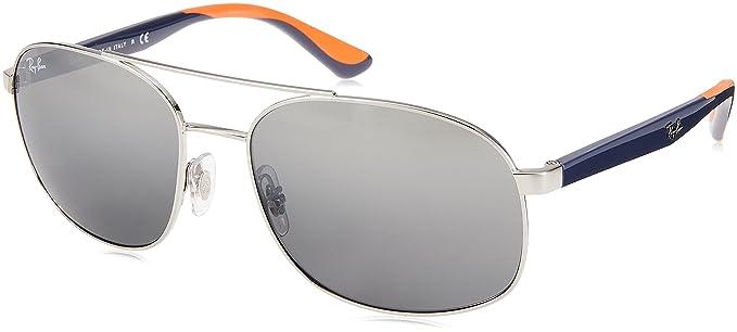 Ray-Ban 0rb3593 910188 58 Gafas de sol, Silver, Hombre ...