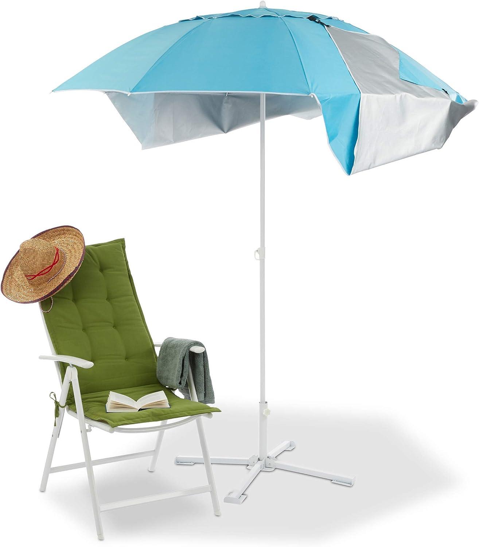 Sonnenschirm Strandschirm Schirm Strand Windschutz Sonnenschutz Strandmuschel