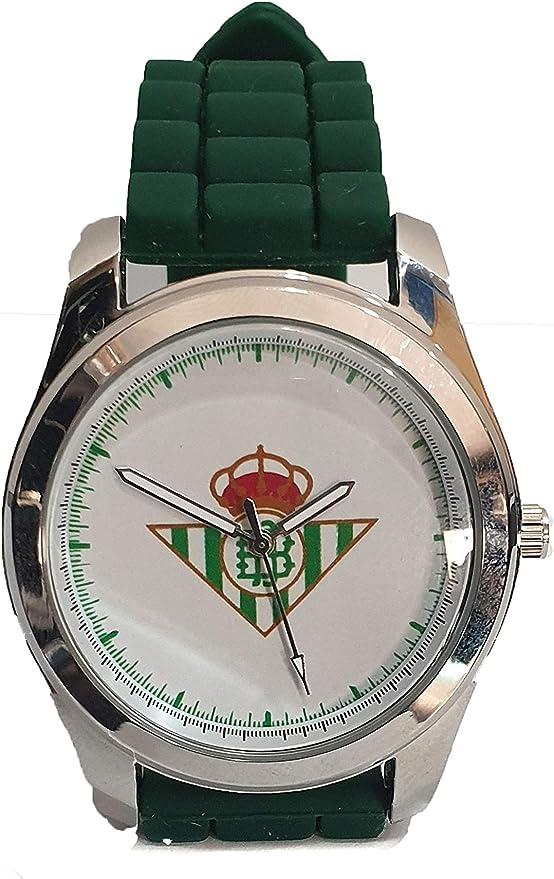 Reloj de Caballero Real Betis Balompié. Elegante único y Exclusivo: Amazon.es: Relojes