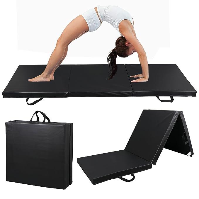 Amazon.com: ZENY 6 pies x 2 pies esterilla de ejercicio de ...