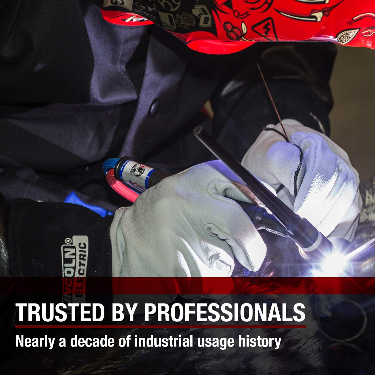 K2981-XL Lincoln Electric Welding Gear and Tools High Dexterity Lincoln Electric Grain Leather TIG Welding Gloves XL