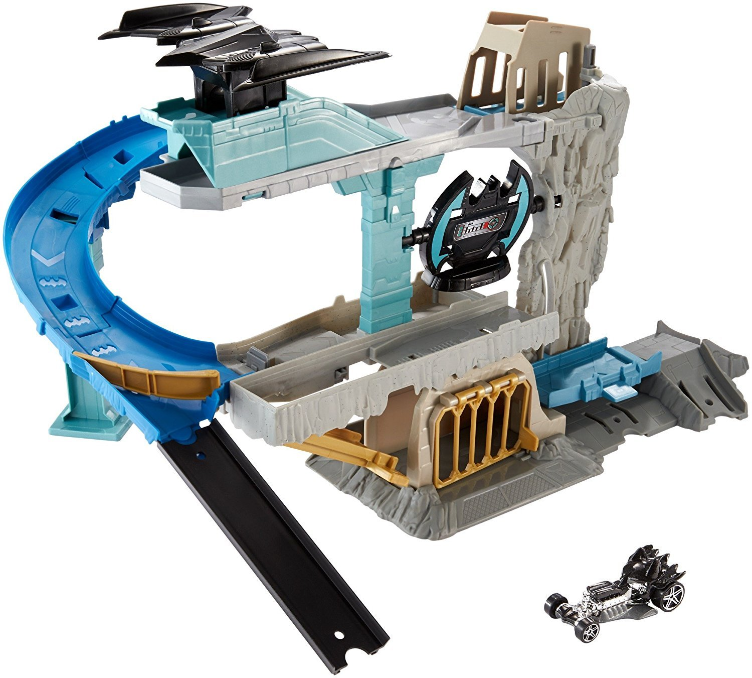 Hot Wheels DC Comics Batman Expanding Batcave Playset Mattel FLP08