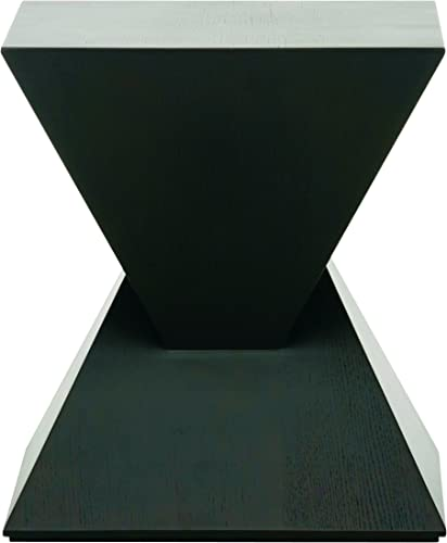 Nuevo Side Table in Black Finish