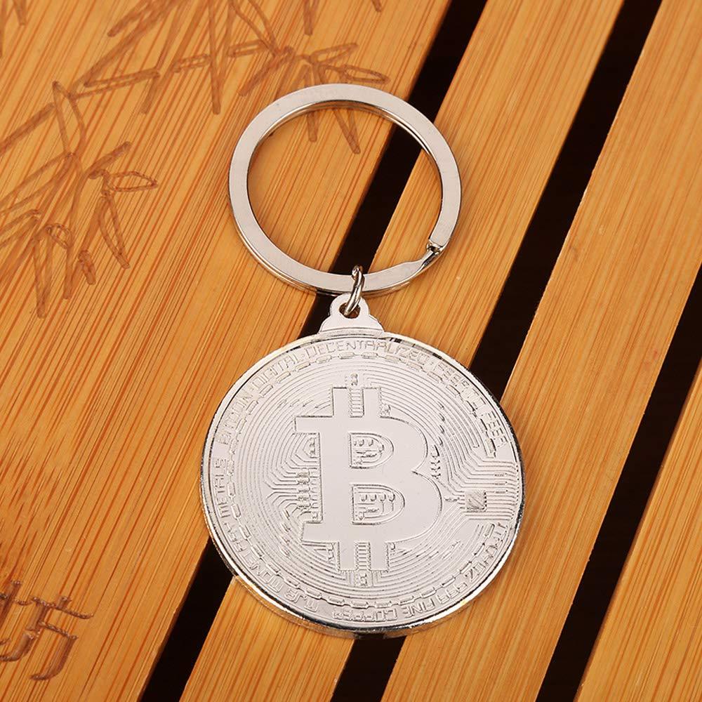 Lecimo Llavero Conmemorativo De Bitcoin Coleccionable Moneda ...