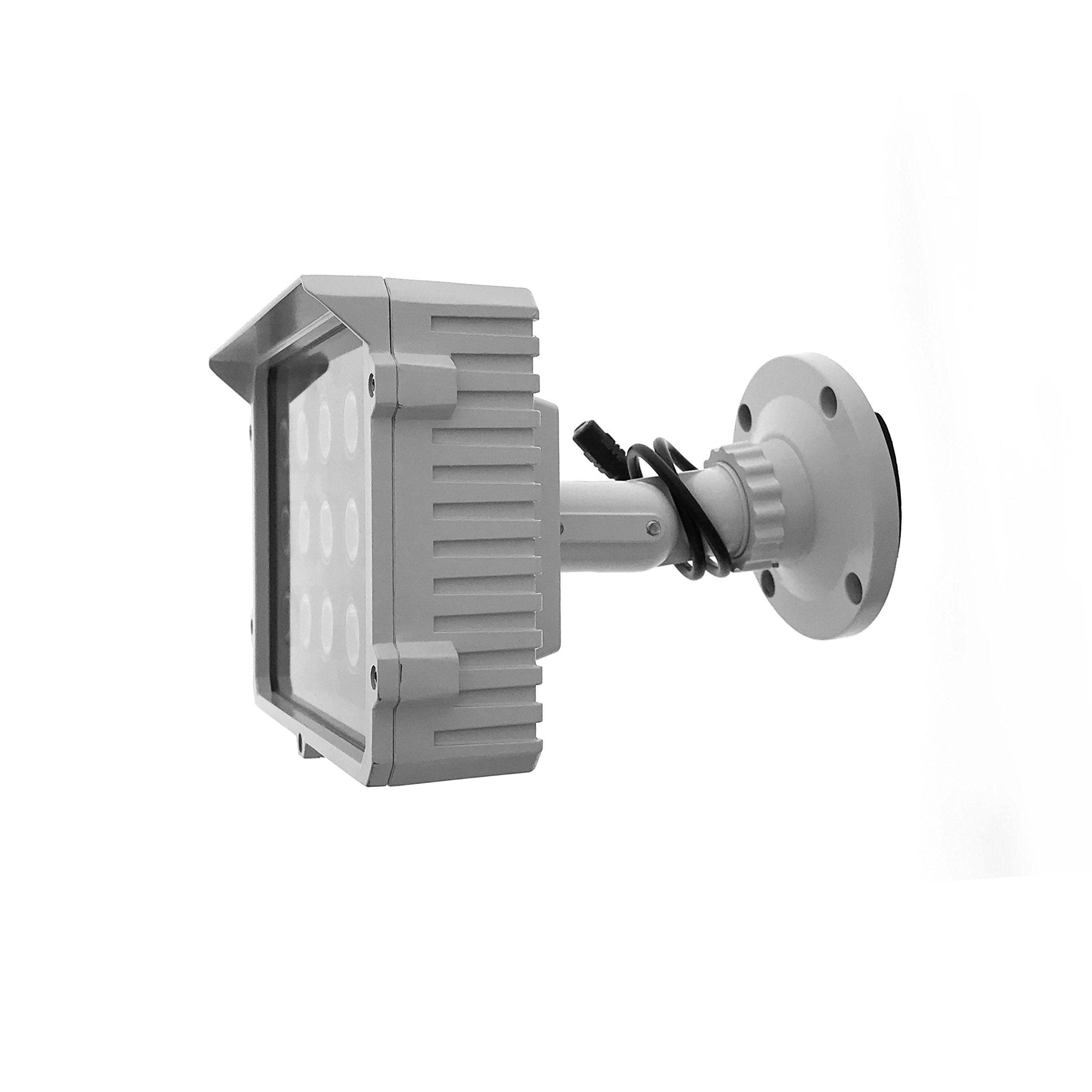 CMVision CMVE-IR15 Wide Angle 60-80° Power LED IR Array Illuminator 200-300' Long Range with Free 12VDC 3A Power Adaptor, 15 Piece by CMVision (Image #4)