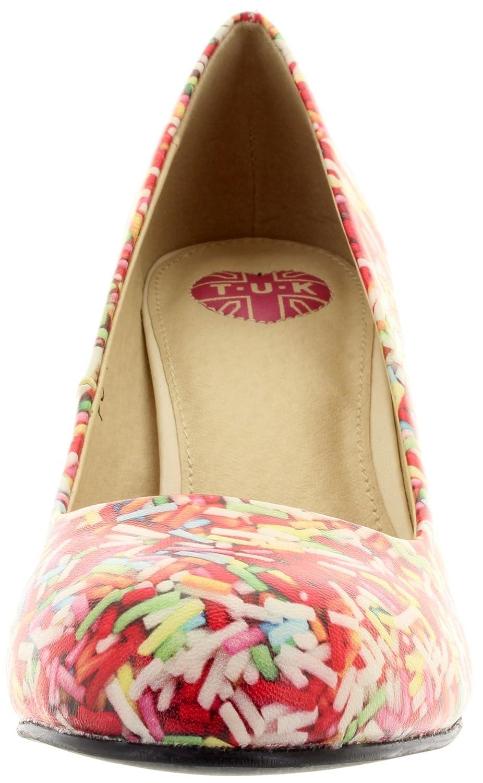 T.U.K. T.U.K. T.U.K. Pumps Rainbow Sprinkles Anti POP Heel A8925L Multi 5a2386