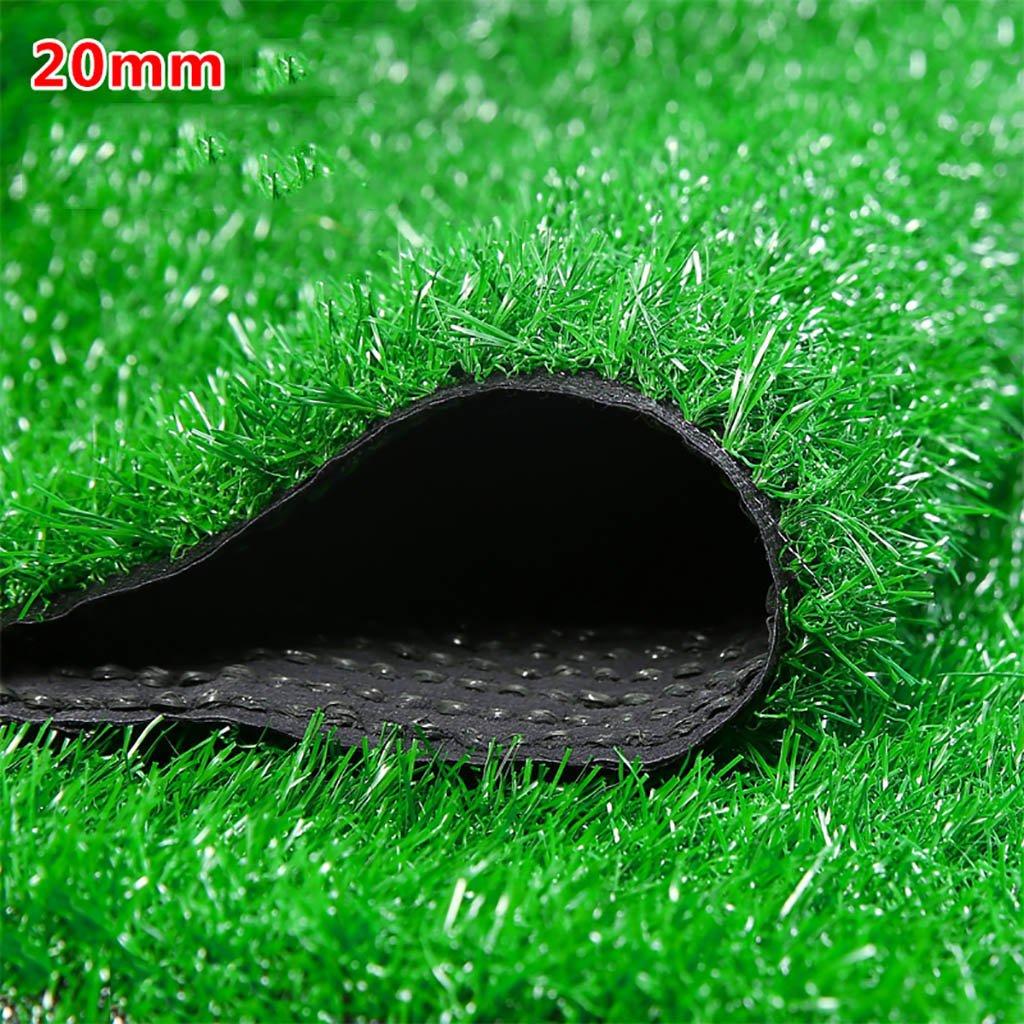 WENZHE 人工芝芝生 ガーデンターフ 人工芝高密度格安3色、幅2メートル、厚さ4種類 ( 色 : D , サイズ さいず : 2*5m ) B076Z5XRRP 12367 2*5m|D D 2*5m