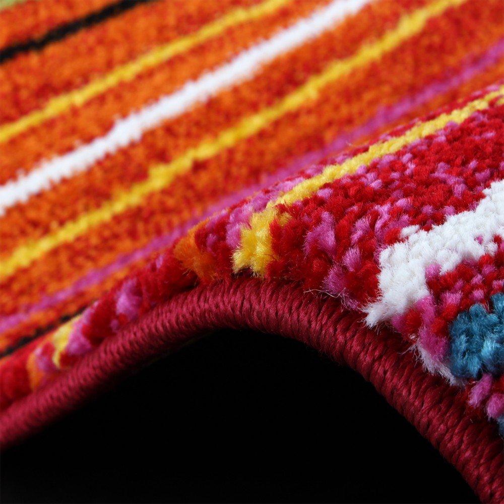 Erstaunlich Best Teppich Modern Splash Designer Teppich Bunt Streifen Model Neu Ovp  Grssex Cm Amazonde Kche Haushalt With Teppich Bunt Modern