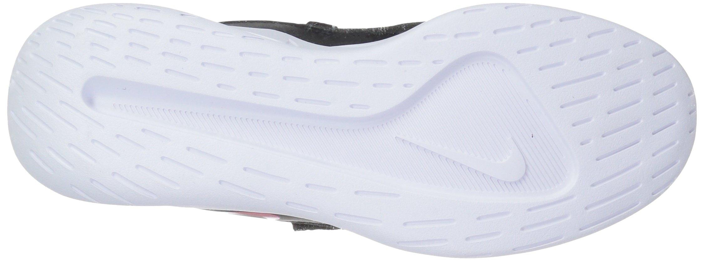 Nike Girls' Viale (GS) Running Shoe, Black/Rush Pink-White, 5Y Youth US Big Kid by Nike (Image #3)