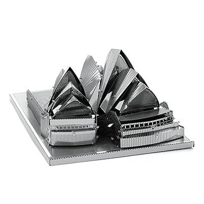 Fascinations Metal Earth Sydney Opera House Building 3D Metal Model Kit